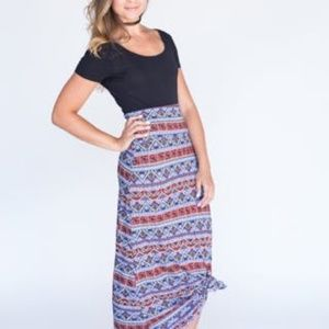 Agnes and Dora Maxi Skirt, Living in Leisure, S